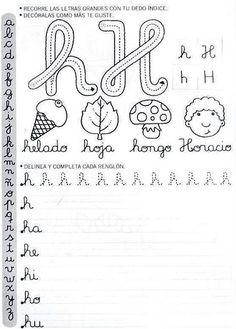Caderno de letra cursiva para imprimir - Como Fazer Learning Activities, Teaching Resources, Make Tutorial, Penmanship, Homeschool, Bullet Journal, Classroom, Calligraphy, Album