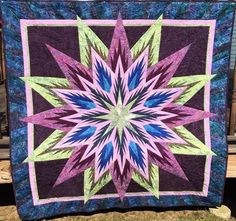 Feathered Star, Quiltworx.com, Made by Cindy Lou Sabo