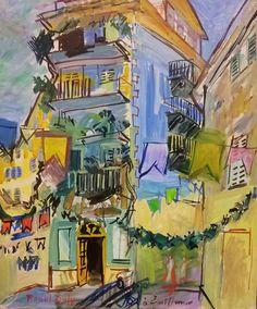 212 benvenuto Dufy mai treille à Nice (4)