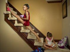 Olympic gymnast: Gabby Douglas :) This pic is so cute haha