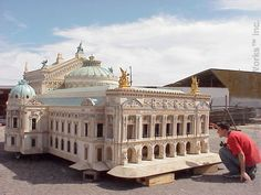 Miniature Buildings Serving Museums, Film Industry, Entertainment & Education for a Third Of A Century!