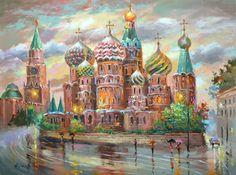 Яркий и теплый импрессионизм Дмитрия Спироса - Ярмарка Мастеров - ручная работа, handmade