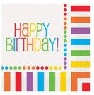 16 Rainbow Party Lunch Napkins/Rainbow Party Supplies: One 16 count package of inch Rainbow Happy Birthday Lunch Napkins. Wish someone a colourful Happy Happy Birthday Text, Happy Birthday Bunting, Birthday Lunch, Happy Birthday Parties, Birthday Ideas, 3rd Birthday, Special Birthday, Birthday Memes, Birthday Design