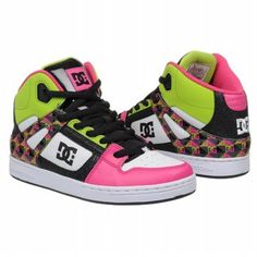 DC Shoes Kids' Rebound Pre/Grd  $50.00 With Free Shipping
