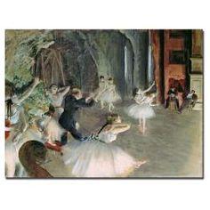 art - over ballet bar