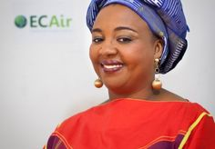 ECAir (Equatorial Congo Airlines) / Press release | Fatima Beyina-Moussa, one year at the head of AFRAA