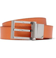 BURBERRY SHOES  ACCESSORIES WEBSTER REVERSIBLE LEATHER BELT