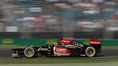 Kimi in his Winning Lotus E21, Australian Grand Prix 2013. [1920X1080]