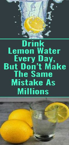 Don't Make The Same Mistake as Others, Drink Lemon Water The Right Way – BuZz health Foods For Brain Health, Health And Fitness Tips, Health And Nutrition, Health And Wellness, Health Tips, Women's Health, Health Articles, Honey And Lemon Drink, Lemon Water