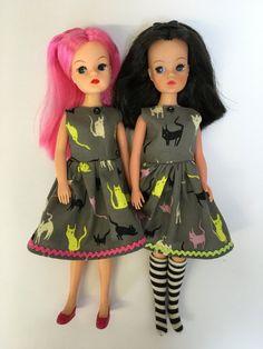 Adult collector Sindy sized Halloween dress. by JollyDollyShop