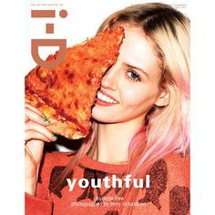 i-D Magazine Pre-Fall 2012 Covers F.TAPE ❤ liked on Polyvore featuring magazine