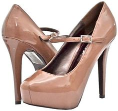 Amazon.com: Breckelles Vanesa-21 Blush Women Platform Pumps: Shoes