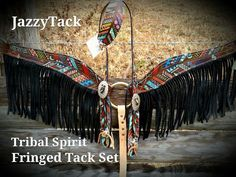 Tribal Spirit Feather Breast Collar & 1 Ear Headstall by JazzyTack Barrel Racing Horses, Barrel Horse, Horse Costumes, Western Horse Tack, Rodeo Life, Tack Sets, Horse Supplies, Horse Gear, Headstall