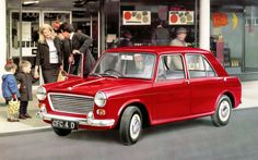 MORRIS 1100 . My brthers first car