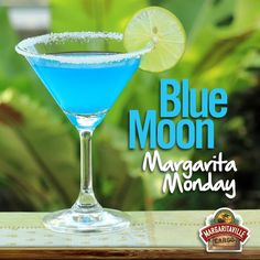 Now this is our kind of Monday blues! #Parrotheads #MargaritaMonday