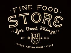 Fine Food Store, Curtis Jinkins