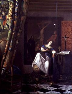Jan Vermeer van Delft - Allegory of the Faith