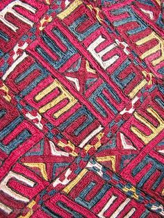 Turkmen embroidery