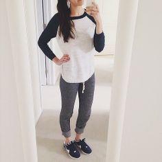 @Tasia Liu marie ootd - sporty weekend wear