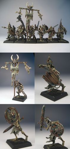 mort vivant - Honestly, the new skeletons from GW are much more interesting (and best dressed).