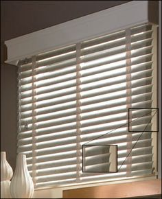 Super White 2 Quot Customized Bass Wood Blinds Width 35in
