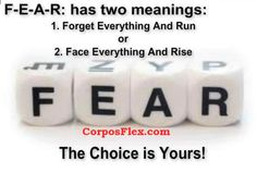 The meanings of FEAR! http://www.corposflex.com/en/rhodiola-rosea-500mg-60-capsules-tested-nutrition