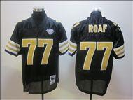 Willie Roaf Black Jersey, 2012 Hall Of Fame New Orleans Saints Black