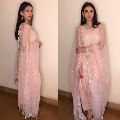 Latest photos of Aditi Rao Hydari Pakistani Couture, Pakistani Dresses, Indian Dresses, Indian Outfits, Indian Clothes, Desi Clothes, Indian Sarees, Indian Look, Indian Ethnic Wear