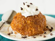 Fried Ice Cream by Brown Eyed Baker