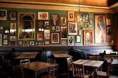 Dining area of gastro pub Irish Pub Interior, Irish Pub Decor, Pub Design, Restaurant Design, Parlor Room, Pub Sheds, Home Pub, Interior Design Gallery, Home Decor Kitchen