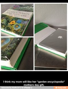 Great Mothers day gift idea / BUT WHAT IF SHE NEVER OPENS THE BOOK BECAUSE SHE HATES IT!?!?! 0o0