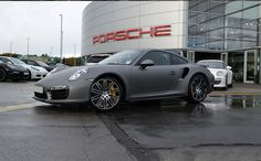 The Project We worked with Porsche Leeds for this project. The customer wanted a custom paint job that Porsche couldn't provide, so we were enlisted to wrap the vehicle in a Matte Grey wrap, transforming the look of the car. The Process The Porsche 911 was brought to our workshop as a brand new factory […]