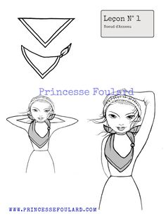 1000 images about porter et nouer un foulard on pinterest. Black Bedroom Furniture Sets. Home Design Ideas