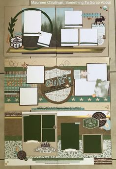 Let's Give 'em Something to Scrap About! Love Scrapbook, Vacation Scrapbook, Scrapbook Layout Sketches, Scrapbook Templates, Scrapbook Paper Crafts, Scrapbooking Layouts, Scrapbook Cards, 6 Photos, Pictures