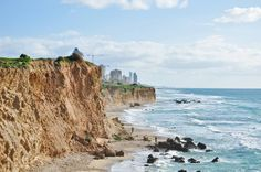 proisrael:Cliffs of Netanya, Israel
