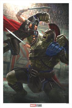 Thor Ragnarok Concept Art by Andy Park