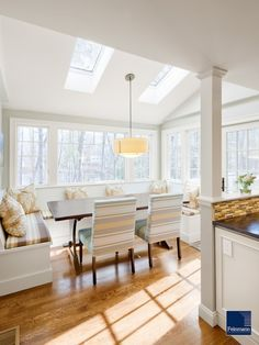 Built In Bench In Kitchen Design, Pictures, Remodel, Decor and Ideas