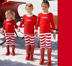 kids personalized peppermint pjs - Chasing Fireflies The whole family can  match! 05df5c1fa