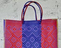 BOLSA tejida a mano de XL, bolsa, bolsa mexicana, bolso del mercado, bolsa de México, bolsa de oaxaqueños, bolsa hecha a mano