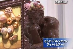Famous Art Recreated with Food Famous Words, Famous Art, Rodin The Thinker, Art Market, Food Art, Making Out, Chocolate, Desserts, Buzzfeed