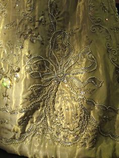 Queen Maud of Norway's Coronation Dress 1906