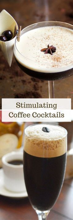 Sleepy? Perk up with these delicious coffee cocktail recipes!
