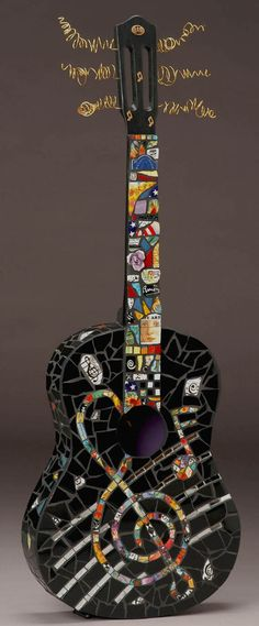 Treble Clef Guitar by CHRIS ZONTA More
