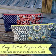 Zipper Pouch Tutorial.