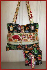 Stars Amp Stripes Americana Zippered Tote Bag Purse