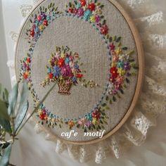 #Embroidery#stitch#프랑스자수#자수#일산프랑스자수공방#원형레이스수틀액자#자수액자