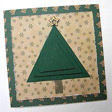 Papiernictvo - Vianočná pohľadnica - 6019694_