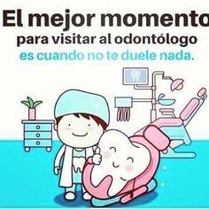 """8 Me gusta, 1 comentarios - maryy (@maryy_castillo92) en Instagram: """"El mejor momento para ir al odontólogo es cuando no te duele nada #prevención """""""