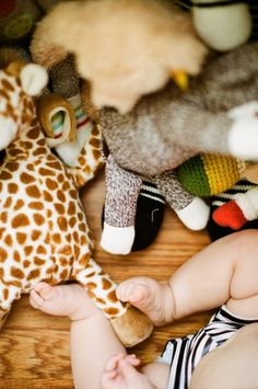 Baby was playing with her toys directly under the window so there was plenty of available light. 5 Tips for Taking better pictures of your kids