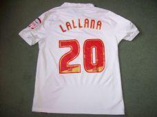 2010 2011 Southampton Lallana Home 125 yr Football Shirt Adults Large Classic Vintage Soccer Shirts